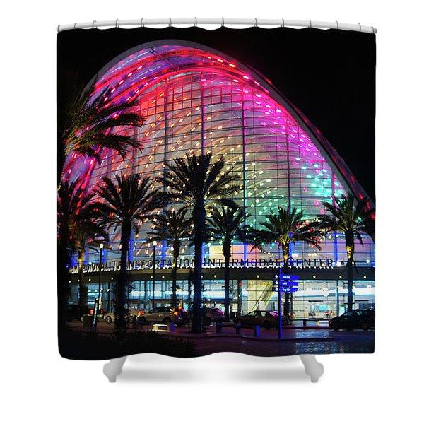 Artic, Anaheim Shower Curtain