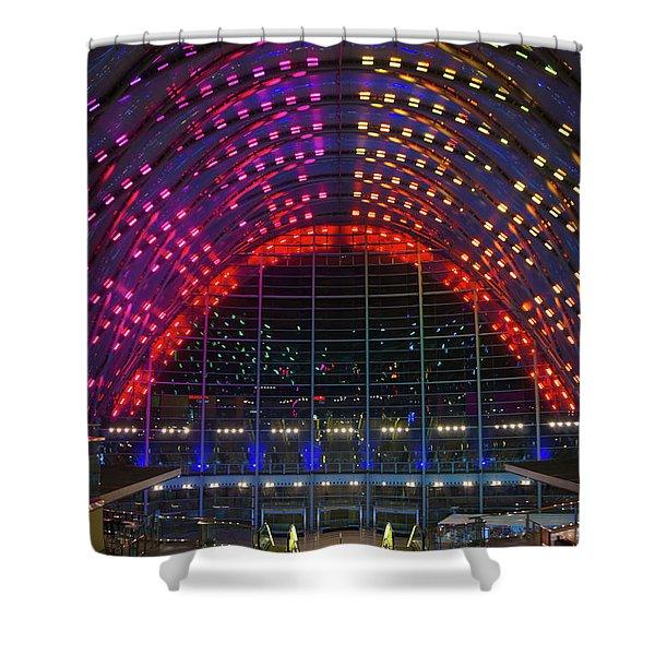 Artic, Anaheim, Ca Shower Curtain