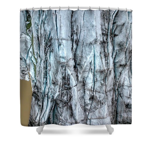 Artic Glacier Shower Curtain