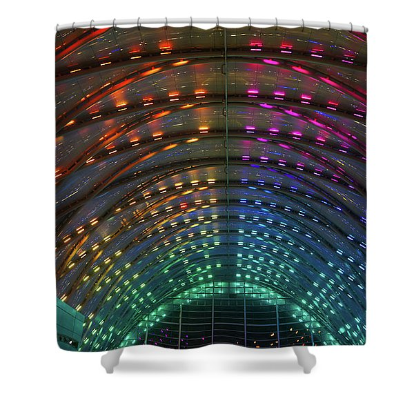 Artic Station Shower Curtain