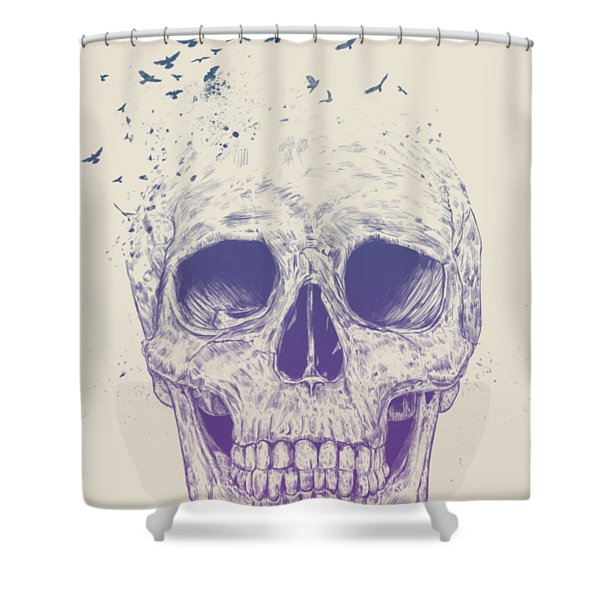 Let Them Fly Shower Curtain