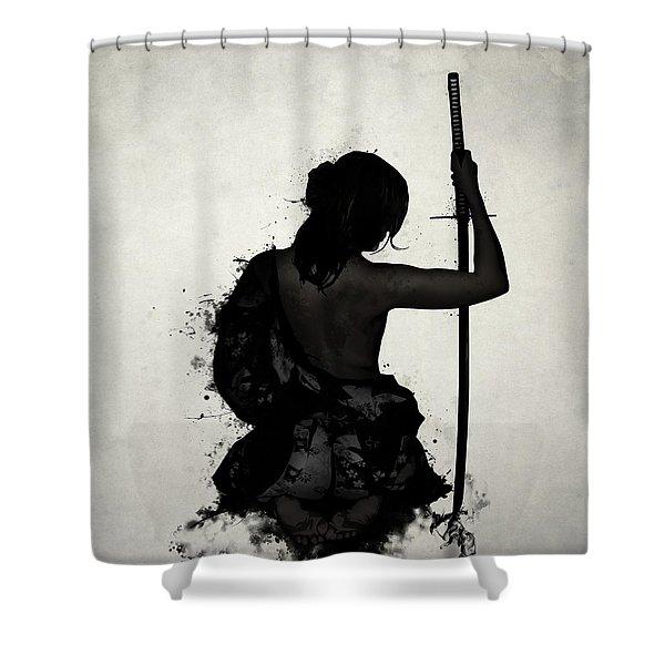 Female Samurai - Onna Bugeisha Shower Curtain