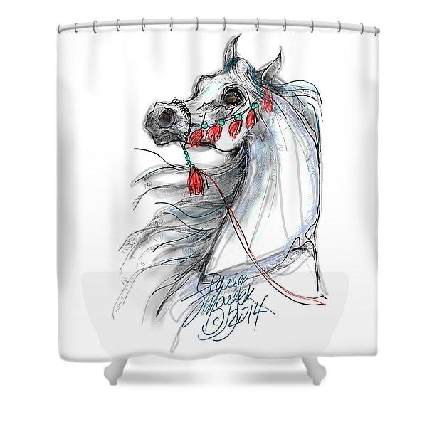 Always Equestrian Shower Curtain