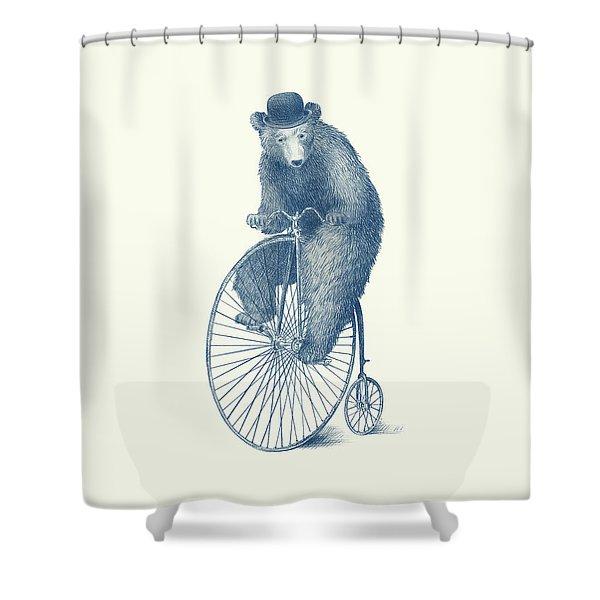 Morning Ride Shower Curtain