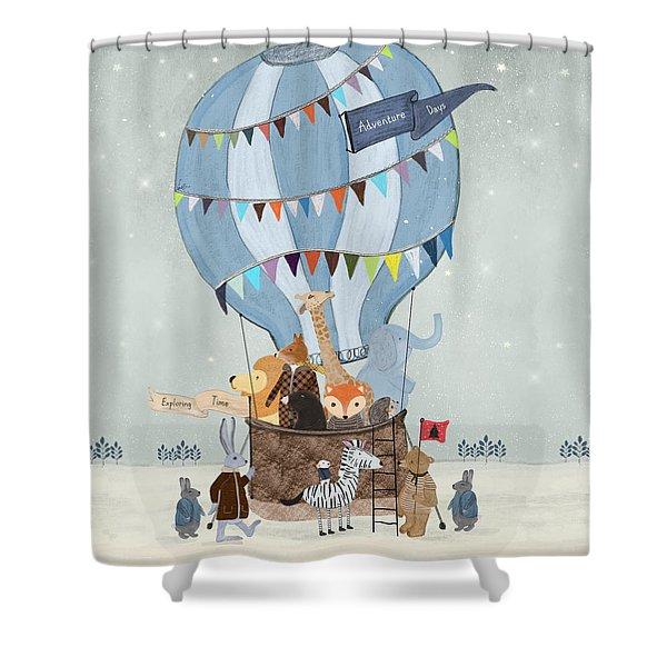 Little Adventure Days Shower Curtain