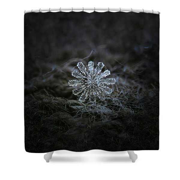 December 18 2015 - Snowflake 3 Shower Curtain