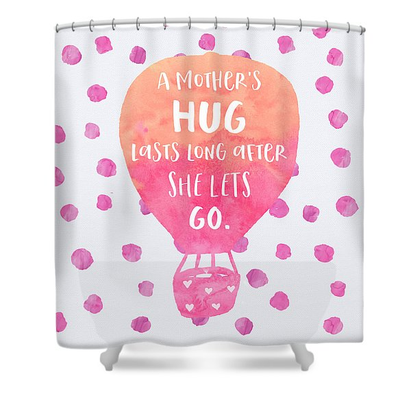 A Mother's Hug Shower Curtain