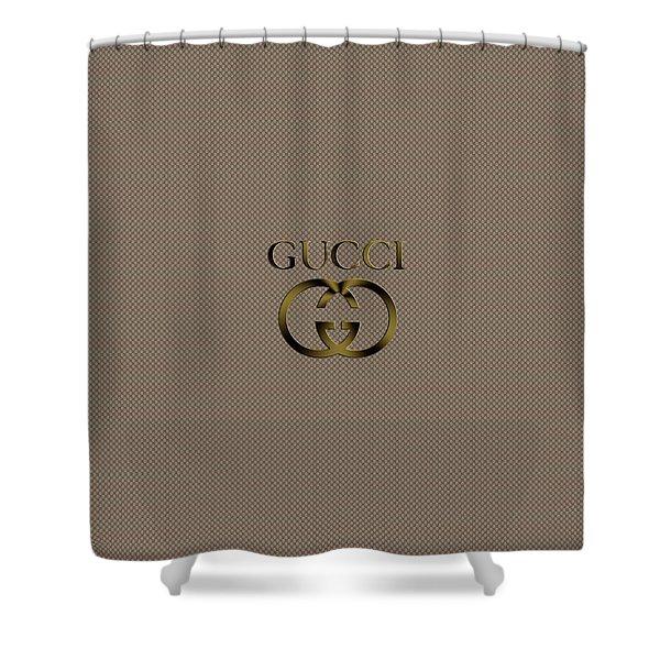 868deb06a82 Gucci Logo  Shower Curtains