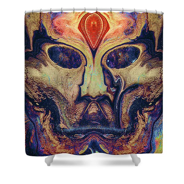 The Sky Mother Shower Curtain