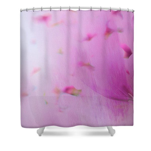 Shower Curtain featuring the photograph Watercolor Magnolia by Emily Johnson