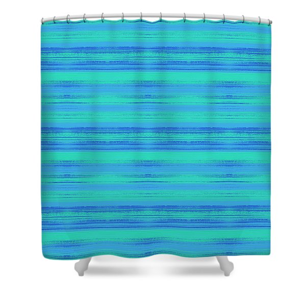 Abstract Vibrant Beach Background Shower Curtain