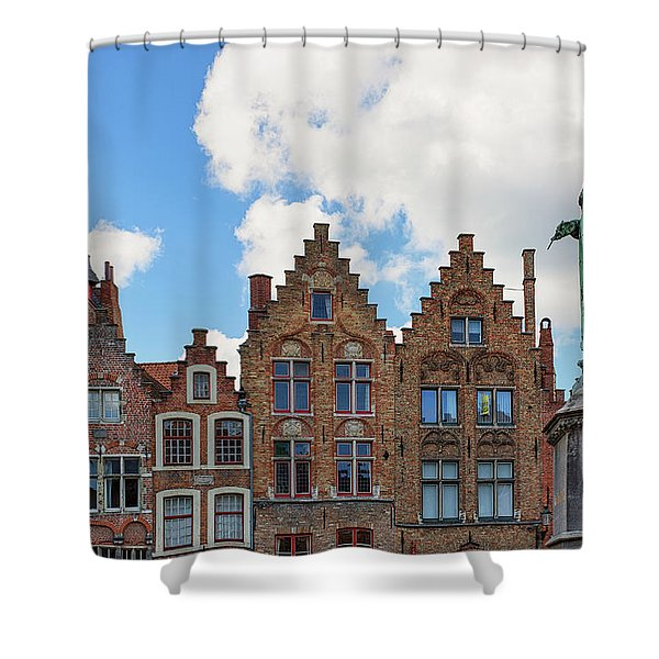 As Eyck Can Shower Curtain