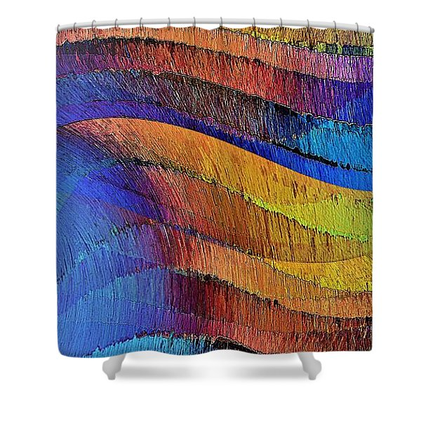 Ascendance Shower Curtain