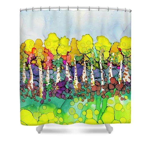 Aspen Autumn Shower Curtain