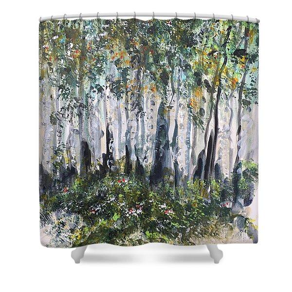 Aspenwood Shower Curtain