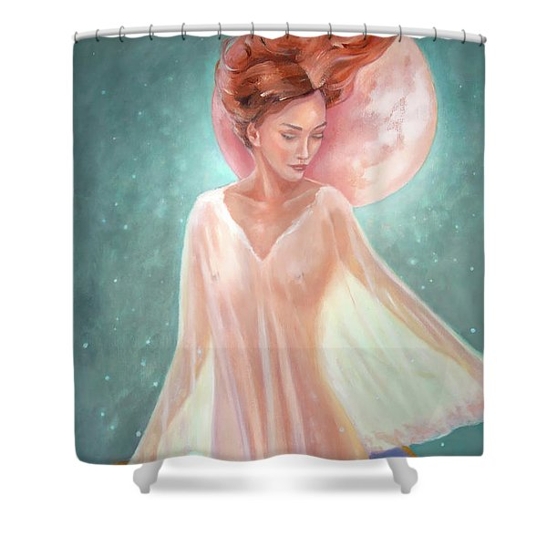 Asteria Nouveau Shower Curtain