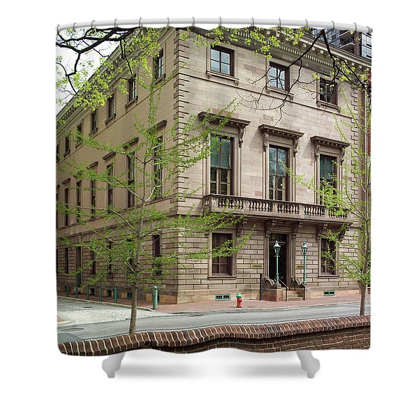 Athenaeum Exterior Shower Curtain