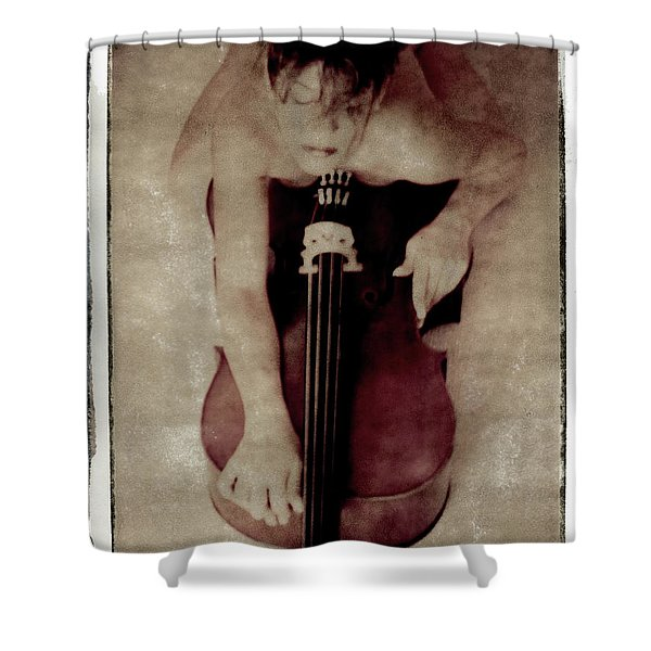 Atoneness Shower Curtain