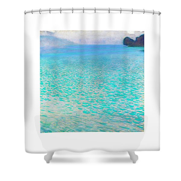 Attersee - Digital Remastered Edition Shower Curtain