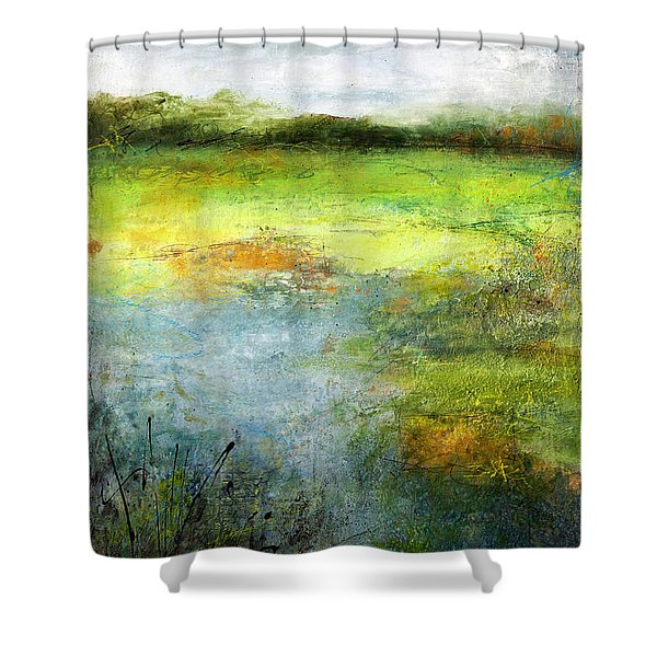 August Of Another Summer Shower Curtain