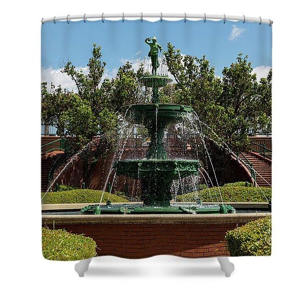Augusta Riverwalk - Augusta Ga Shower Curtain