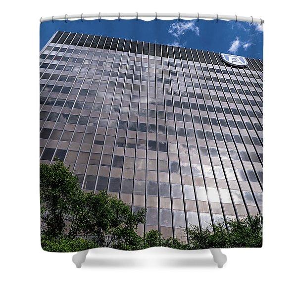 Augusta University Building 1 Shower Curtain