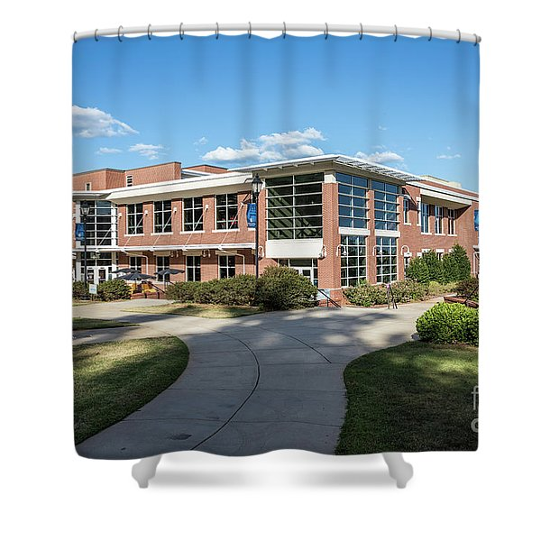 Augusta University Student Activity Center Ga Shower Curtain