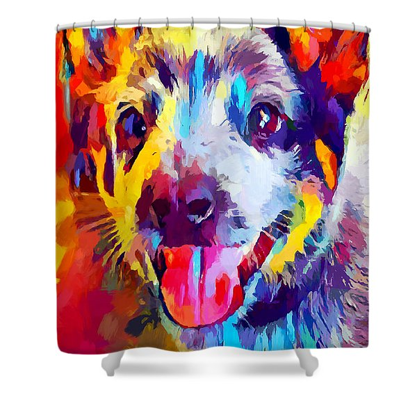 Australian Cattle Dog 3 Shower Curtain