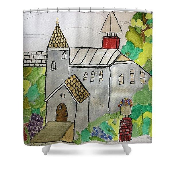 Austria Shower Curtain