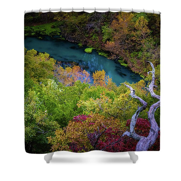 Autumn At Ha Ha Tonka State Park Shower Curtain