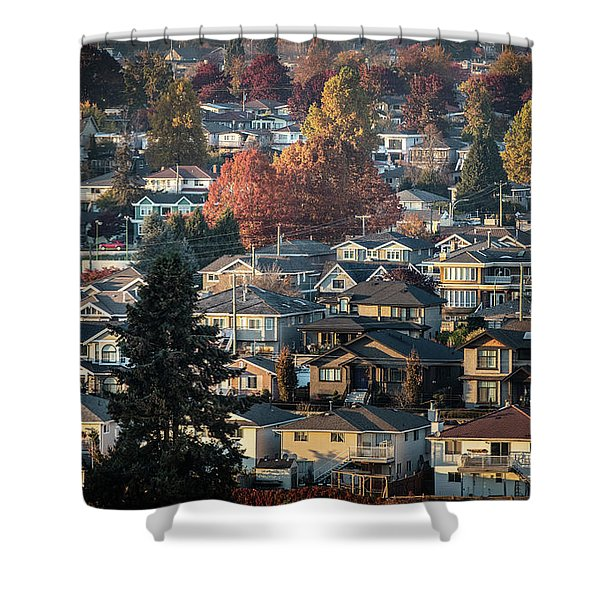 Autumn At Home Shower Curtain