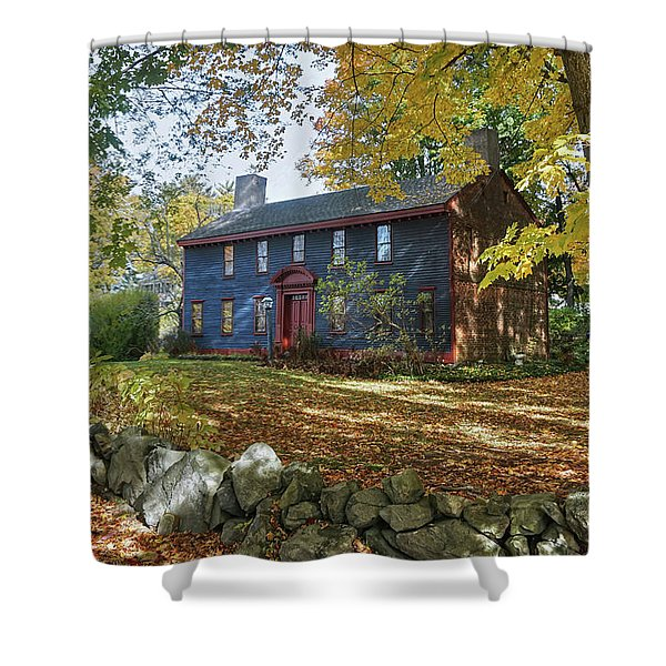 Autumn At Short House Shower Curtain