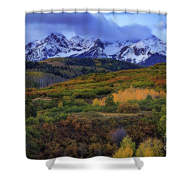 Autumn At The Dallas Divide Shower Curtain