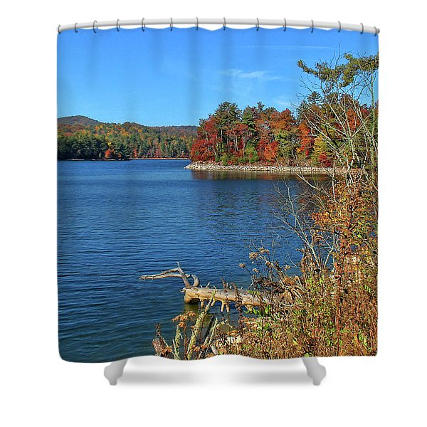 Autumn In North Carolina Shower Curtain