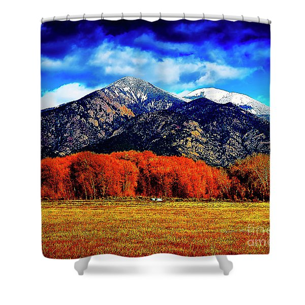 Autumn In Taos New Mexico Shower Curtain