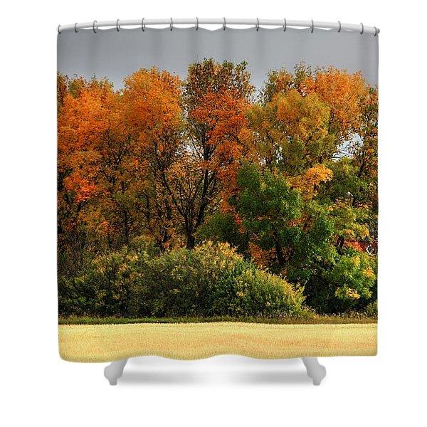 Autumn Is Nigh  Shower Curtain