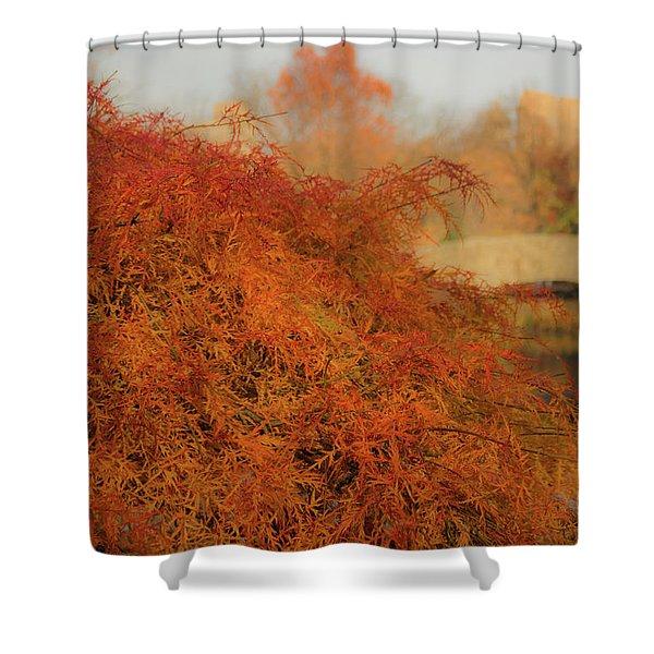 Autumn Maple Shower Curtain