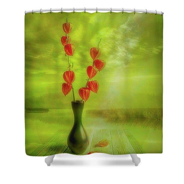 Autumn Still Life 2 Shower Curtain