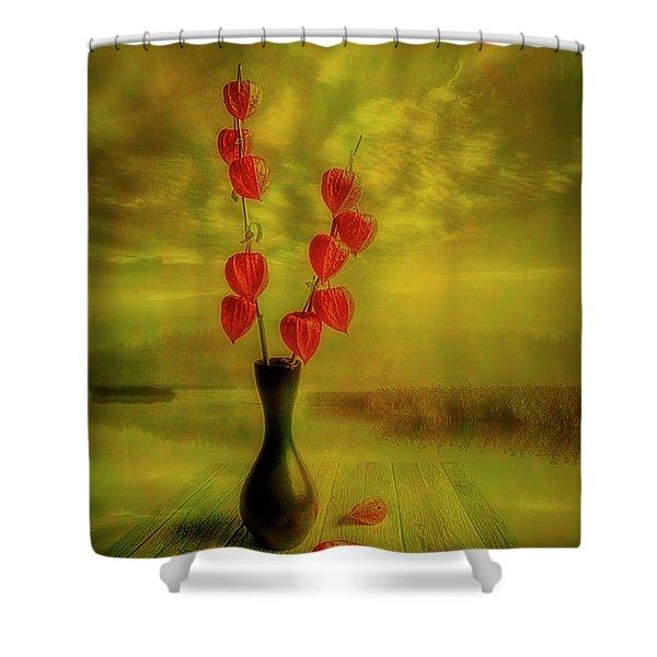 Autumn Still Life 3 Shower Curtain