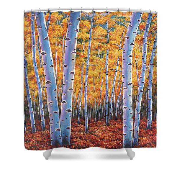Autumn's Dreams Shower Curtain