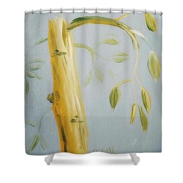 Avocado Tree  Shower Curtain