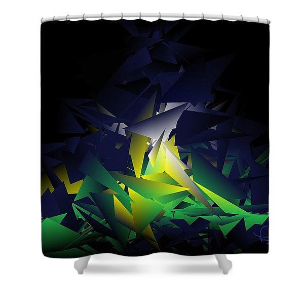 Awake 1901 Shower Curtain