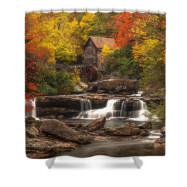 Babcock Grist Mill Shower Curtain