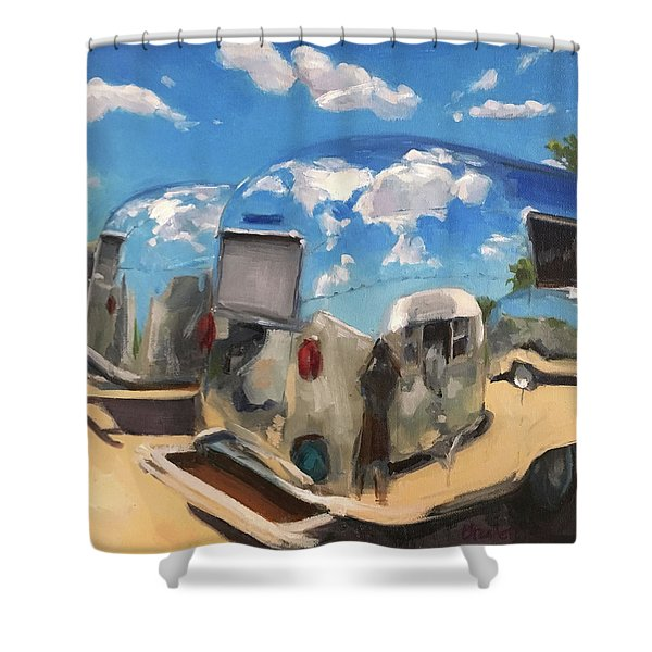 Baby's At The Polisher's Shower Curtain