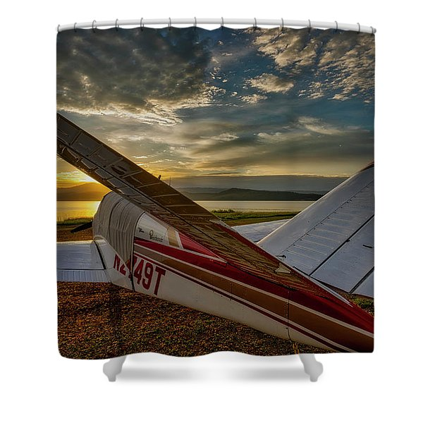 Shower Curtain featuring the photograph Backcountry Bonanza by Tom Gresham