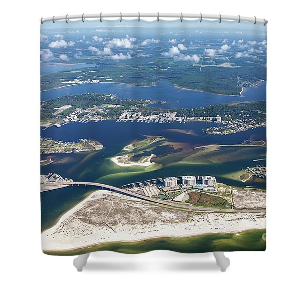Backwaters 5122-a Shower Curtain