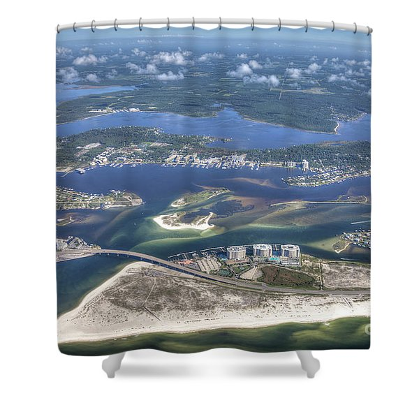 Backwaters 5122 Shower Curtain