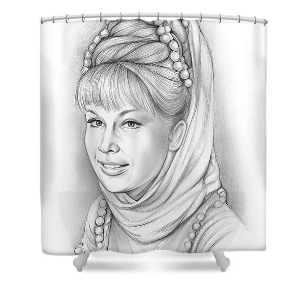 Barbara Eden Shower Curtain