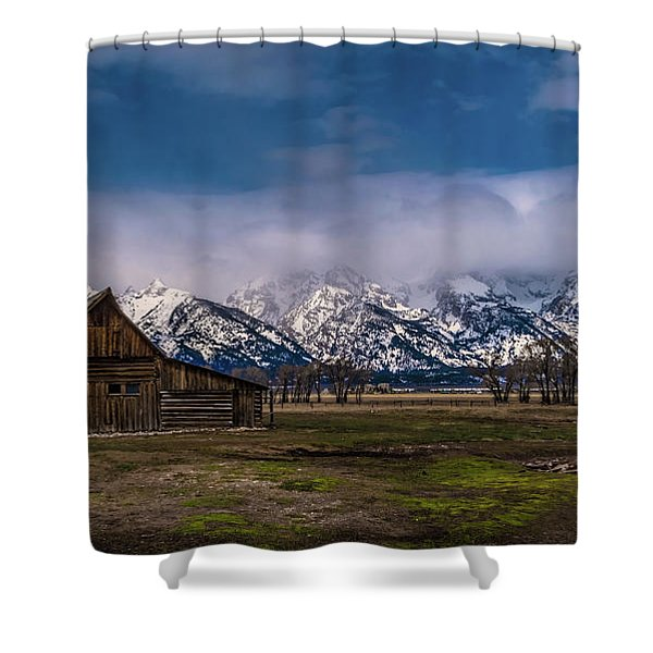Barn At Mormon Row Shower Curtain