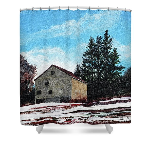 Barn Harlow, Ma Shower Curtain